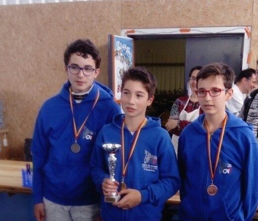 14 mai 2017 : Résultats Trophée Rabelais M14 & M20 – CHINON