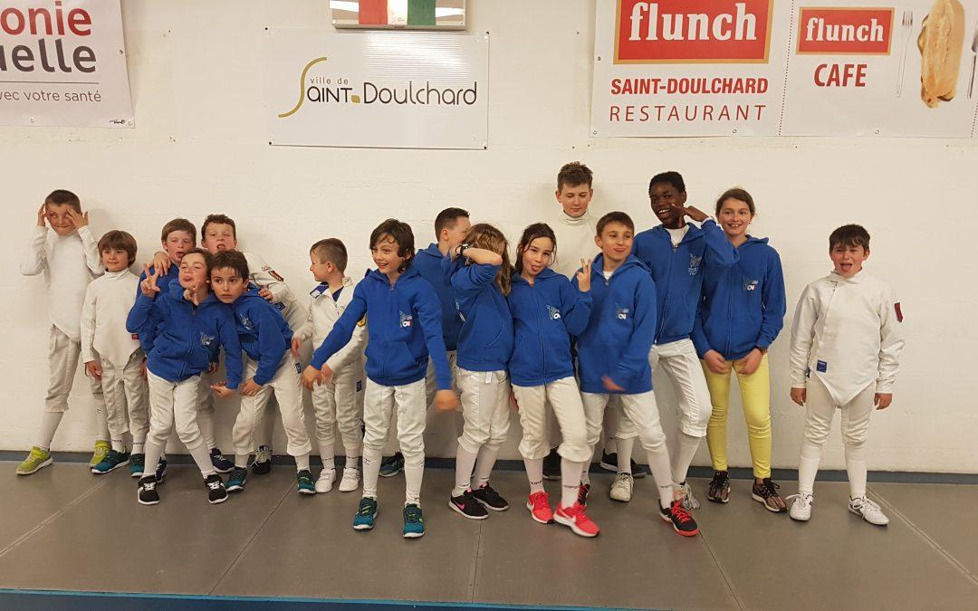 Tournoi Nièvre- Cher – Allier à St Doulchard le samedi 21 avril 2018