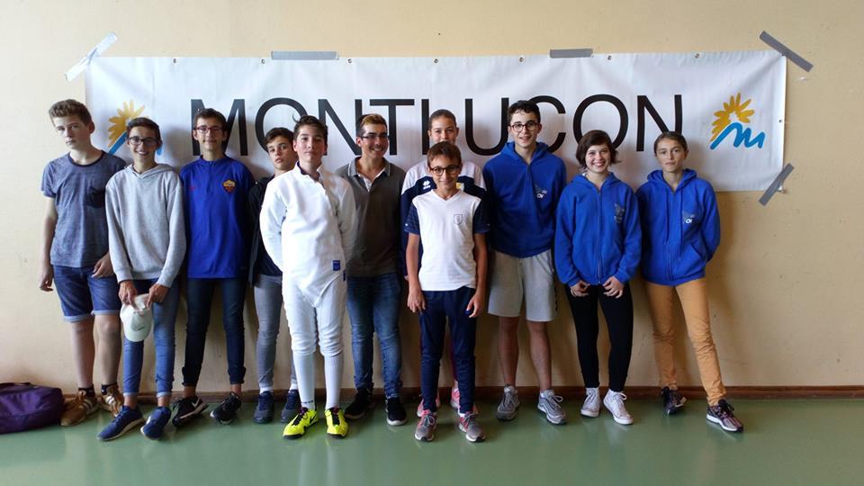 15 oct. 2018 : Résultats Tournoi à Montluçon  M15 & M17