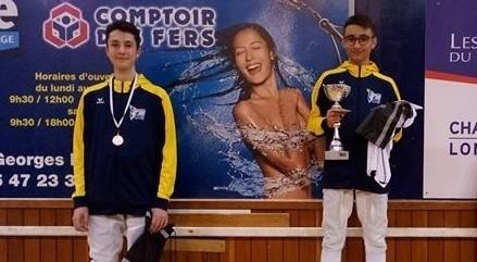 3 février 2020 : Résultats tournoi de Chalon sur Saone
