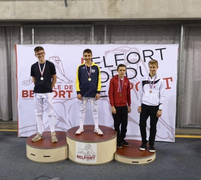 09 mars 2020 : Résultats TOURNOI DU LION de BELFORT